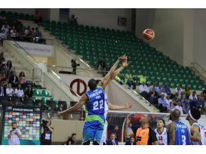 Tahincioğlu Basketbol Süper Ligi play-off: Eskişehir Basket: 98 - TOFAŞ: 99
