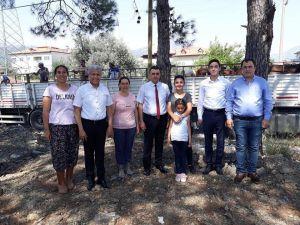 Ortaca'da genç çiftçilere destek