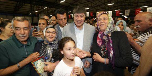 Başkan Türel Konyaaltı sakinleriyle iftar yaptı