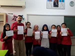 Öğrencilere İspanya'dan mektup var