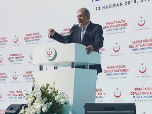 """Sağlık Bakanı Demircan: """"Şehir hastanelerinde hasta garantisi diye bir şey yok"""""""