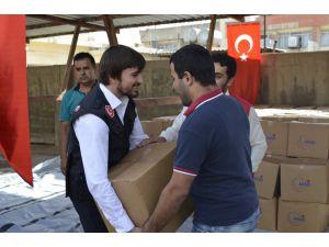AFAD, Erbil'de 500 aileye yardım dağıttı