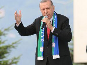 """Cumhurbaşkanı Erdoğan: """"Biz Allah'ın izniyle cari açığı falan hallederiz, ülkemizin şuan en büyük açığı muhalefet açığıdır"""""""