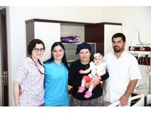 11 aylık bebeğe kalp ameliyatı yapıldı