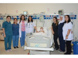 PAÜ Hastanesinde 4 çocuğa zehirli ishal tedavisi
