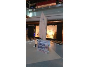 Yelken sporunu 67 Burda AVM'de tanıttılar
