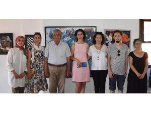'Akdeniz'in Renkleri' sergisi açıldı