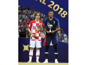 Dünya Kupası'nın en iyi oyuncusu Luka Modric