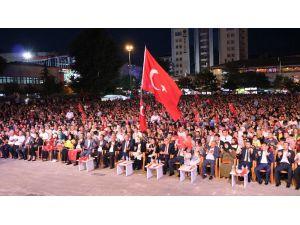 Niğde'de 15 Temmuz Demokrasi nöbeti