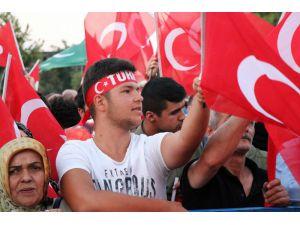 Sakarya'da darbe teşebbüsünün 2'nci yılında 'Demokrasi Nöbeti'