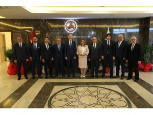 Ticaret Bakanı Pekcan, İTO heyetini kabul etti