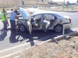 Bingöl'de trafik kazası: 4 yaralı