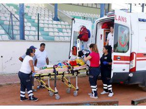 Yaralı çocuk ambulans helikopterle Antalya'ya gönderildi