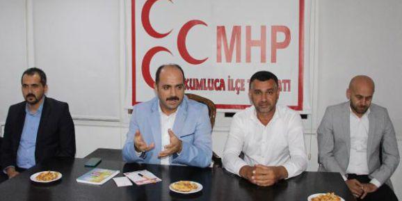 MHP Kumluca'da ilçe toplantısı