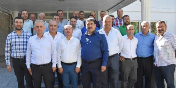 Komisyoncular Demre'de toplandı