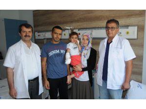 Ambulans uçak ve helikopter, küçük Zeynep'in kopan parmağı için havalandı