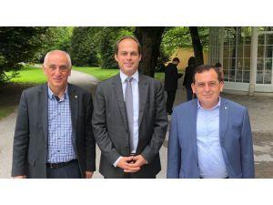 Avusturya ve Türk iş dünyası arasındaki işbirliği olanakları görüşüldü