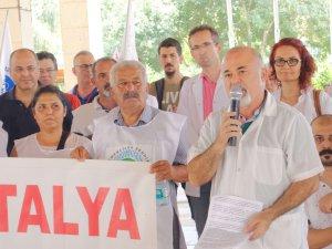 Antalya Tabip Odası'ndan sağlıkta şiddete tepki!