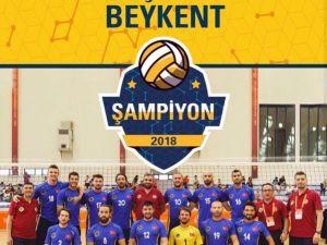 Beykent Üniversitesi, Avrupa şampiyonu oldu