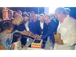 Galatasaray, şampiyonluk kutlamalarına Fethiye'de devam etti
