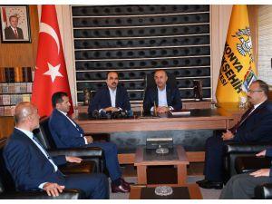 """Bakan Çavuşoğlu: """"Konya Türkiye'nin gözbebeğidir"""""""