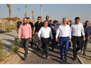 Şırnak Valisi Aktaş, Cizre ilçesinde incelemelerde bulundu