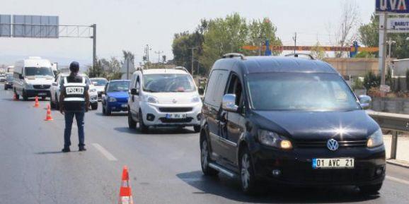 Manavgat'ta trafik denetimleri artırıldı
