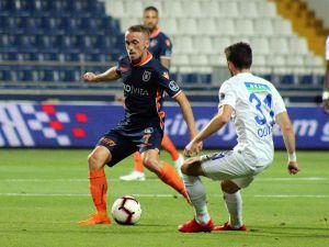 Spor Toto Süper Lig: Kasımpaşa: 0  - Medipol Başakşehir: 0 (İlk yarı)