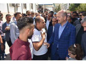 """İçişleri Bakanı Soylu: """"Terör örgütünü hem içeride hem de kırsalda silip süpürüyoruz"""""""