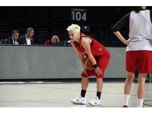 A Milli Kadın Basketbol Takımı'nda, Dünya Şampiyonası hazırlıkları sürdü