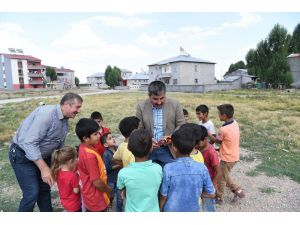 Başkan Asya, çocuklara söz verdi, ekipler harekete geçti