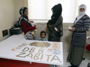 Diyarbakır'da bir dilencinin üzerinden bin lira çıktı