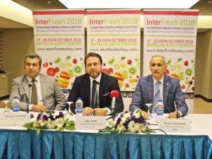 Yaş sebze ve meyve sektörünün kalbi Antalya'da atacak