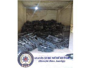 Gaziantep Polisinden 1 Milyon Tl'lik Depo Baskını