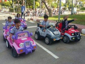 Çocukların Trafik Park heyecanı