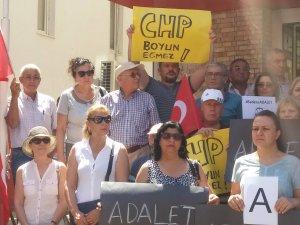 Tutuklamaya CHP Antalya'dan tepki !