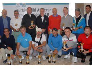 Mid-Amateur ve Senior Golf Şampiyonası sona erdi