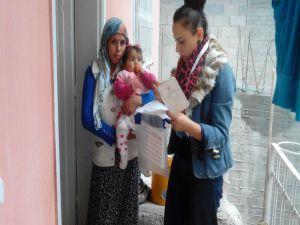 Adana'da 20 bin Suriyeli çocuğa aşı yapıldı