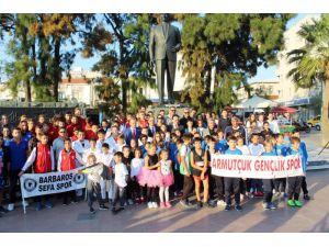 Ayvalık'ta Amatör Spor Haftası Coşkusu