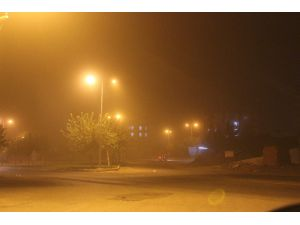 Siverek'te Toz Bulutu Hayatı Olumsuz Etkilemeye Devam Ediyor