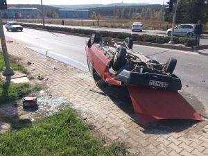 Eskişehir'de Trafik Kazası: 3 Yaralı