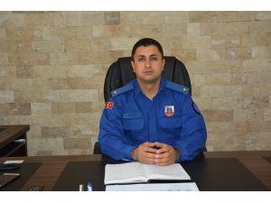Korkuteli Jandarmaya Yeni Komutan Atandı