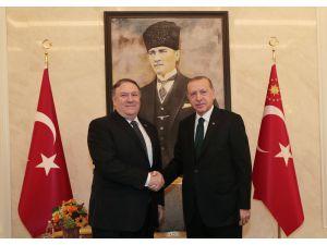 Cumhurbaşkanı Erdoğan Abd Dışişleri Bakanı Pompeo İle Görüşüyor