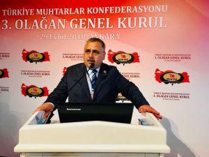 """Türkiye Muhtarlar Konfederasyonu Genel Başkanı Aktürk: """"Suçu Olan Cezasını Çeksin"""""""