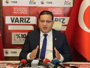 Sivas Ticaret Ve Sanayi Odası'ndan Enflasyonla Mücadeleye Destek