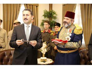 Gazi Osman Paşa Müzesinin Anahtarı Paşa'yı Canlandıran Aktöre Teslim Edildi