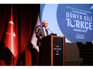 10. Uluslararası Dünya Dili Türkçe Sempozyumu Esogü'de Başladı