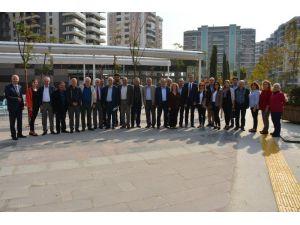 Başkan Toyran Chp Yönetimi Ve Belediye Meclis Üyeleri İle Biraya Geldi