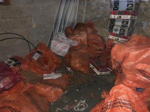 Van'da 650 Kilogram Kaçak Nargile Tütünü Ele Geçirildi