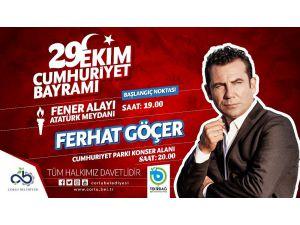 Cumhuriyet Konserinde Ferhat Göçer Sahne Alacak